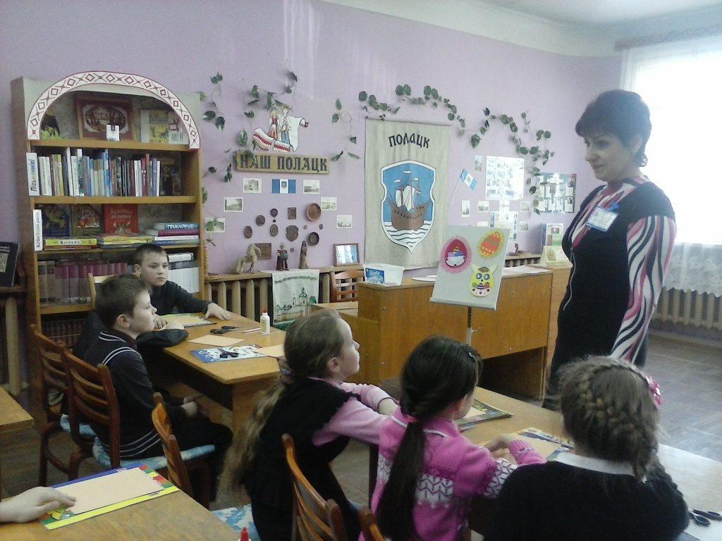Майстар-класы ў дзіцячым аддзеле бібліятэкі імя Янкі Купалы