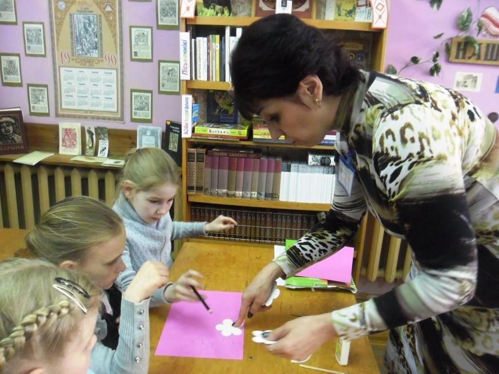 Майстар-класы ў бібліятэцы імя Я. Купалы